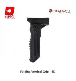 NUPROL Folding Vertical Grip - BK