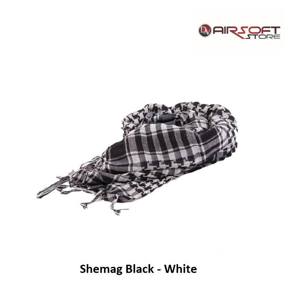 Shemag Black - White