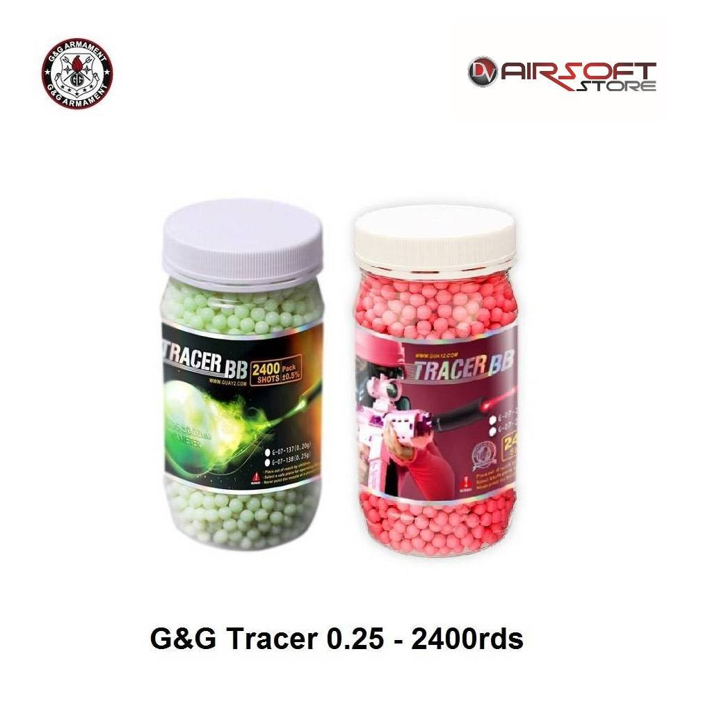 G&G Tracer BB 0.25 - 2400 rds