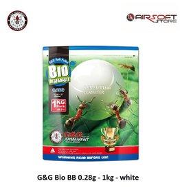 G&G G&G Bio BB 0.28g - 1kg - white