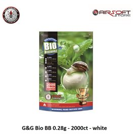 G&G G&G Bio BB 0.28g - 2000ct - white