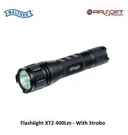 Walther Flashlight XT2 400Lm - With Strobo