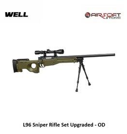 Well L96 Sniper Rifle Set Upgraded - OD