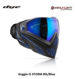 DYE PRECISION Goggle i5 STORM Schwarz-Blau