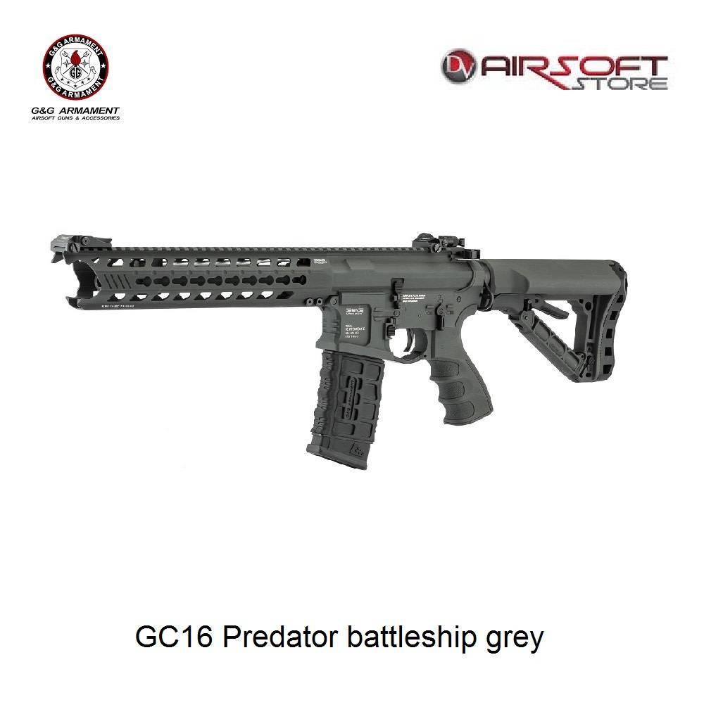 G&G G&G GC16 Predator battleship grey
