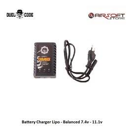 Duel Code Battery Charger Lipo - Balanced 7.4v - 11.1v