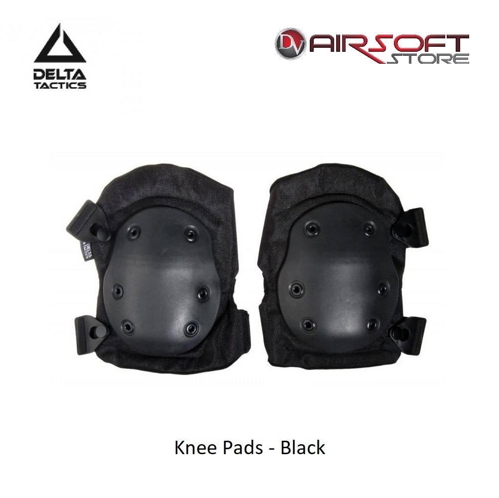 Delta Tactics Knee Pads - Black