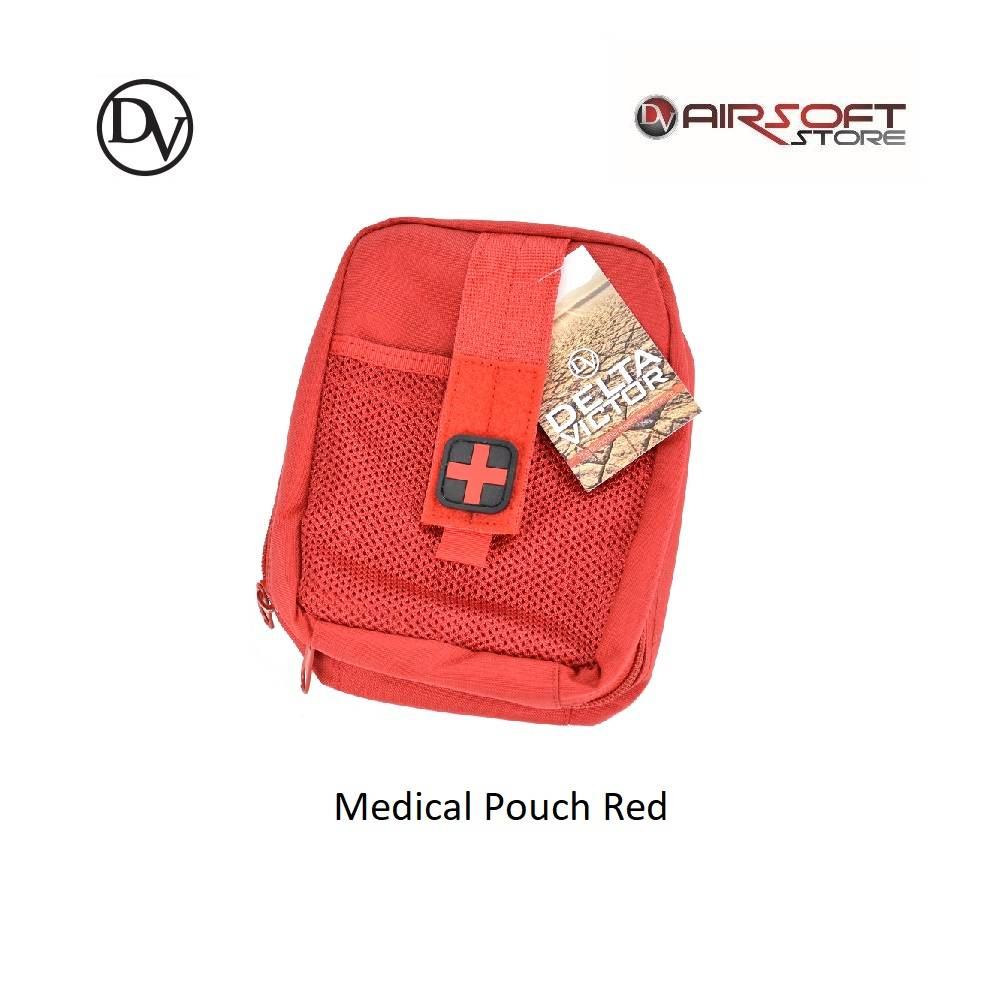 Delta Victor Medical Pouch Red