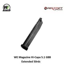 WE Europe Magazine WE Hi-Capa 5.1 GBB Extended 50rds