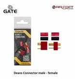 Gate Deans Stecker männlich - weiblich