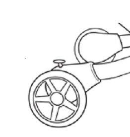 4moms Origami  roues arrière