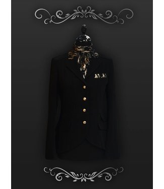 Couture Hippique Jacket Lifestyle 10, Zwart, 38