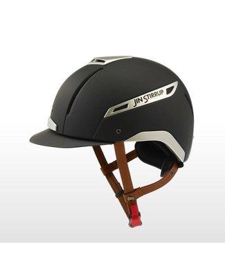 Jin Stirrup JS Icona Helmet black color