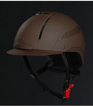 Jin Stirrup JS Icona Helmet brown mono