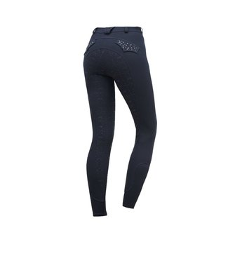 Schockemohle Limited Edition Breeches, Navy