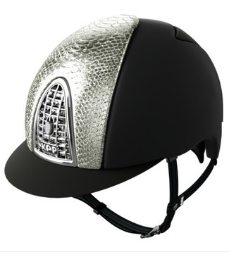 KEP Cromo Textile Black, Silver Python, Silver Grid