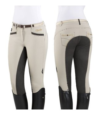 Equiline WOMAN FULL LEATHER BREECHES PENELOPE
