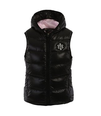 Kingsland JENA, Shiny Down Vest with Hood