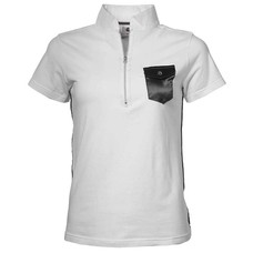 Mike & Charlie Wedstrijdshirt Facet white