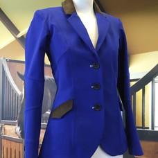 HorsePilot Veste Tailor Made Femme, Blue/Brown