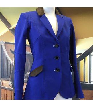 HorsePilot Veste Tailor Made Femme, Blue/Brown, Size: 36