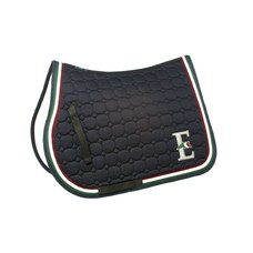 Equiline Octagon saddle cloth tricolor Tommaso