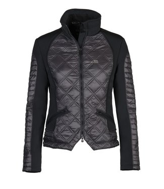 Equiline Woman padded jacket Crystal