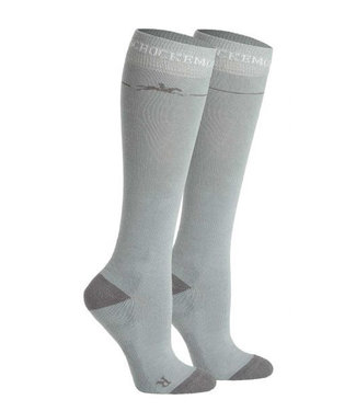Schockemohle High-Knee Socks Chrome