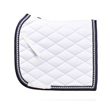 SD Classic Saddle Pad in White & Montana