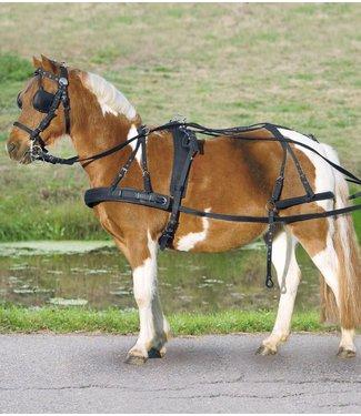 Synthetic breastplate singel harness