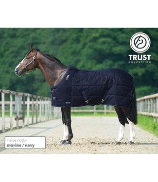 Trust Tetris stable rug medium, Navy, 145/195/6.6