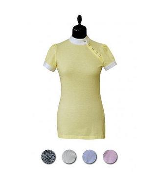 Couture Hippique Shirt Diagonal Crystals