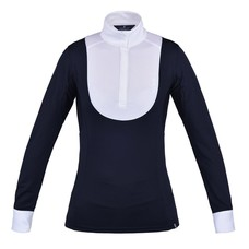Kingsland June ladies LS Show Shirt Navy