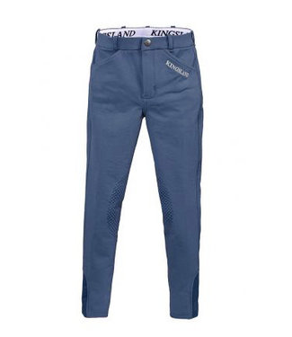Kingsland Kaila grip E-Tec knie Grip broek <br /> Blue Vintage Indigo