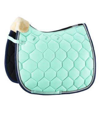 Eskadron Saddle Cloth ALCA-GRID Fauxfur Jade DL
