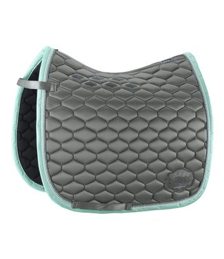 Eskadron Saddle Cloth GLOSSY WAVE Steelgrey DL
