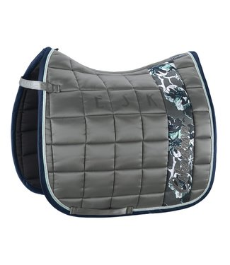 Eskadron Saddle Cloth GLOSSY BIG SQUARE Steelgrey DL