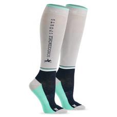 Schockemohle Sporty Socks Style Silver