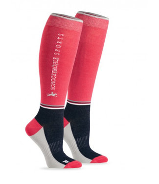 Schockemohle Sporty Socks Style Strawberry