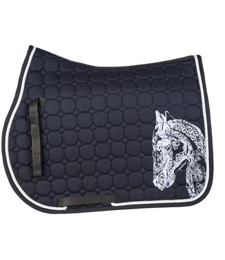 Equiline Horse Octagone Saddle Cloth Holly