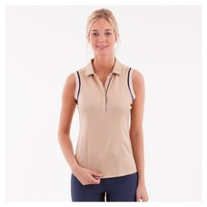 Anky Anky Sleeveless Polo Shirt Ladies