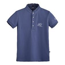 Kingsland Coniway Girls Cotton Pique Shirt