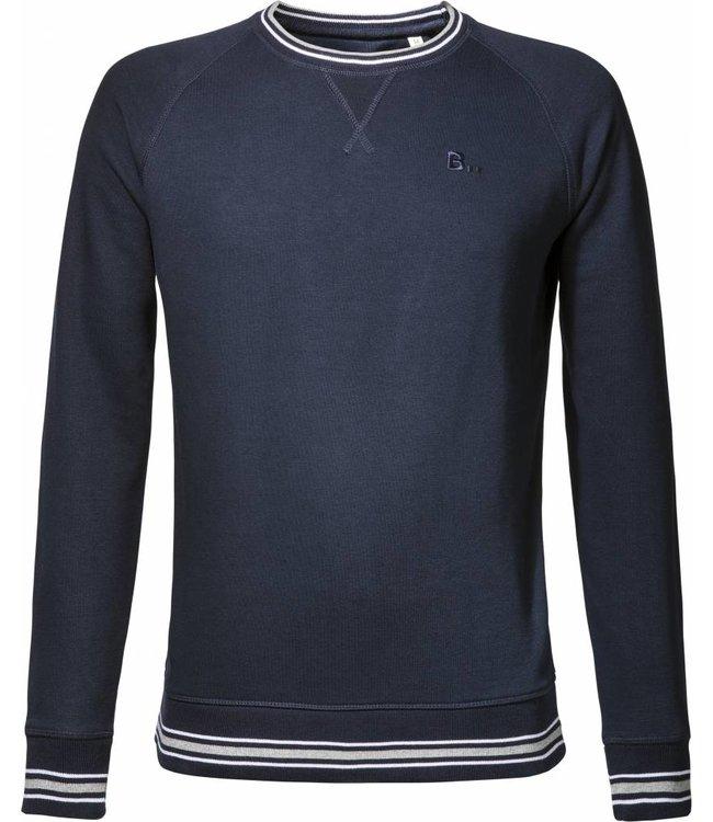 BETTER.. Clothing Dunkelblauer Pullover aus Bio-Baumwolle