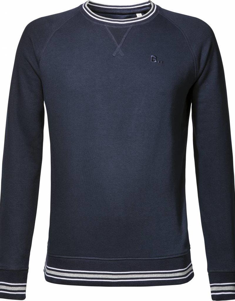 BETTER.. Clothing Frans donkerblauw, biologisch katoenen trui