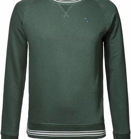 BETTER.. Clothing Grüner Pullover aus Bio-Baumwolle