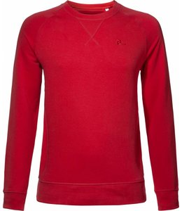 BETTER.. Clothing Roter Pullover aus Biobaumwolle