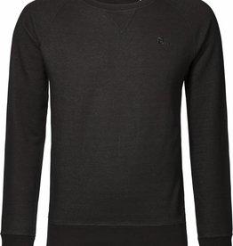 BETTER.. Clothing Zwart denim, biologisch katoenen trui