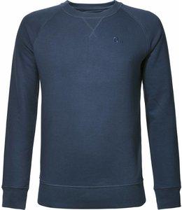 BETTER.. Clothing Biologisch katoenen, donkerblauwe trui