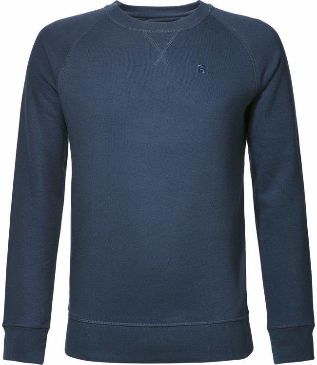 Biologisch katoenen, donkerblauwe trui from BETTER.. Clothing