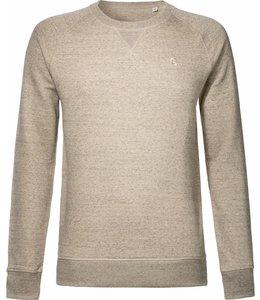 Ecru/beige trui van biologisch katoen